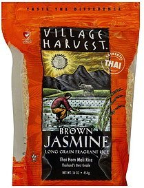 rice brown jasmine Village Harvest Nutrition info