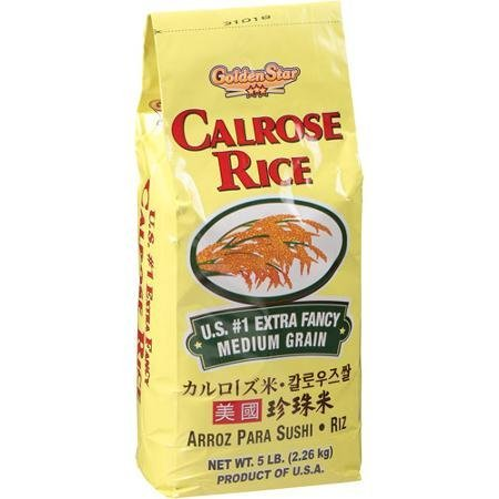 rice calrose Golden Star Nutrition info