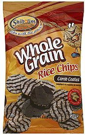 rice chips whole grain, carob coated Shibolim Nutrition info