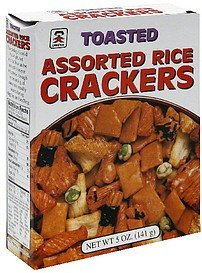 rice crackers toasted, assorted Umeya Nutrition info