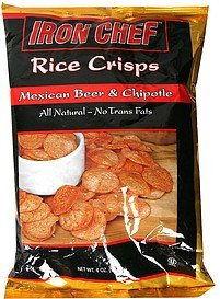 rice crisps mexican beer & chipotle Iron Chef Nutrition info