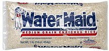 rice enriched, medium grain Water Maid Nutrition info