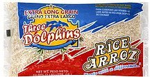 rice extra long grain Three Dolphins Nutrition info