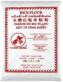 rice flour Flying Horse Nutrition info