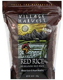 rice heirloom red Village Harvest Nutrition info