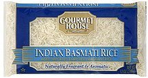 rice indian basmati Gourmet House Nutrition info
