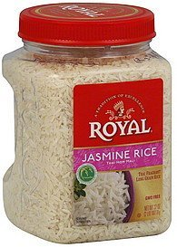 rice jasmine Royal Nutrition info