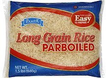 rice long grain, parboiled Pampa Nutrition info