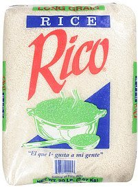 rice long grain Rico Nutrition info