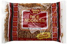 rice noodles thin style China Boy Nutrition info