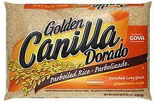 rice parboiled, enriched long grain Golden Canilla Nutrition info