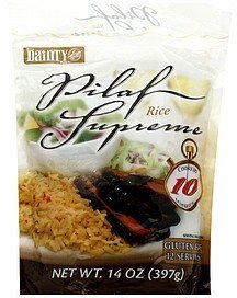 rice pilaf supreme Dainty Rice Nutrition info