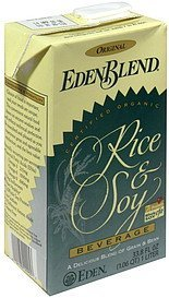 rice & soy beverage original EdenBlend Nutrition info