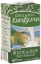 rice & soy beverage EdenBlend Nutrition info