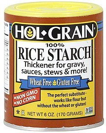 rice starch 100% Hol-Grain Nutrition info