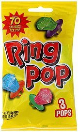 ring pops assorted flavors Topps Nutrition info