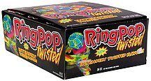 ringpop twisted ring pop twisted Topps Nutrition info