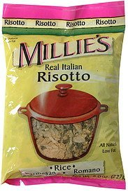 risotto real italian Millie's Nutrition info
