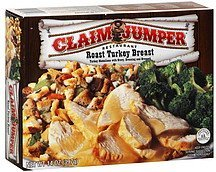 roast turkey breast Claim Jumper Nutrition info