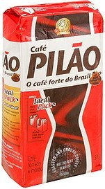 roasted and ground coffee Cafe Pilao Nutrition info