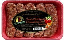 roasted bell pepper & caramelized onion sausage New York Style Sausage Company Nutrition info