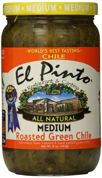 roasted green chile El Pinto Nutrition info