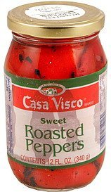 roasted peppers sweet Casa Visco Nutrition info