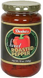 roasted peppers sweet Dunbars Nutrition info