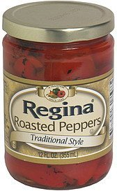 roasted peppers traditional style Regina Nutrition info