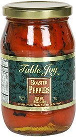 roasted peppers Table Joy Nutrition info