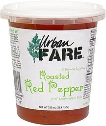 roasted red pepper soup hot southwestern style Urban Fare Nutrition info