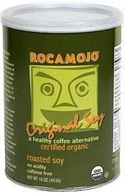 roasted soy organic, original Rocamojo Nutrition info