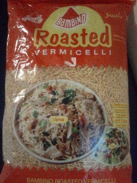 roasted vermicelli Bambino Nutrition info