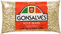 rock beans Gonsalves Nutrition info