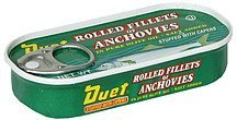 rolled fillets of anchovies stuffed with capers Duet Nutrition info