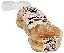 rolls bulkie, enriched, deli Calise & Sons Nutrition info