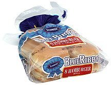 rolls enriched, hamburger Blue Ribbon Nutrition info