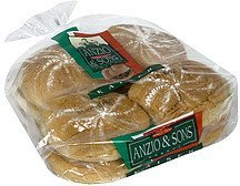 rolls enriched kaiser Anzio & Sons Nutrition info