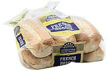 rolls french hoagie Seattle International Nutrition info