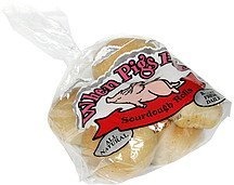 rolls sourdough When Pigs Fly Nutrition info