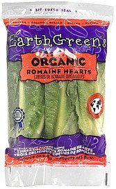 romaine hearts Earth Greens Nutrition info