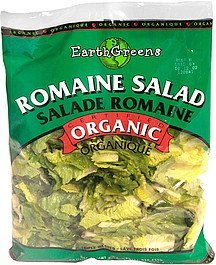 romaine salad Earth Greens Nutrition info