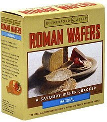 roman wafers natural Rutherford & Meyer Nutrition info