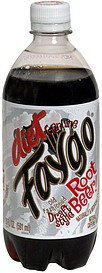 root beer diet Faygo Nutrition info