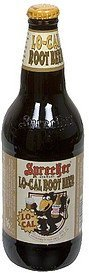 root beer low-cal Sprecher Brewery Nutrition info