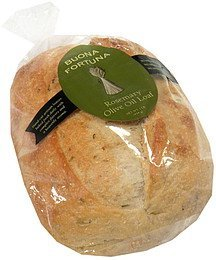 rosemary olive oil loaf Buona Fortuna Nutrition info
