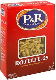 rotelle-25 P&R Nutrition info