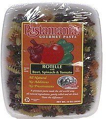 rotelle with beet, spinach & tomato Pastamania! Nutrition info