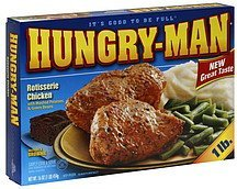 rotisserie chicken Hungry-Man Nutrition info