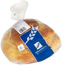 round egg challah Breadsmith Nutrition info